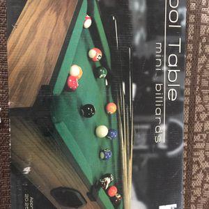 Mini Pool Table for Sale in Santa Maria, CA