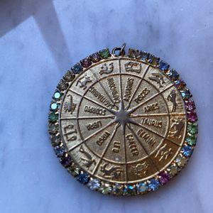 Zodiac Rhinestone Pendant for Sale in Zephyrhills, FL