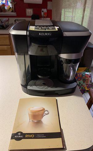 Keurig Rivo espresso, cappuccino and latte system for Sale in Wahneta, FL