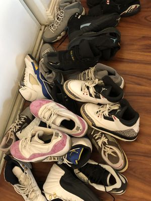 Retro Jordan's 3s, 13s, 12s, 11s, 5s, 8s,9s all sz 6 for Sale in Los Angeles, CA