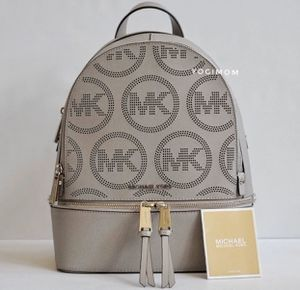 BRAND NEW ⭐️ 100% AUTHENTIC MICHAEL KORS BACKPACK SCHOOL BOOK BAG TRAVEL WORK SHOULDER PURSE for Sale in Plymouth, MI