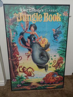 Vtg Disney The Jungle Book Puzzle Picture for Sale in Salt Lake City, UT