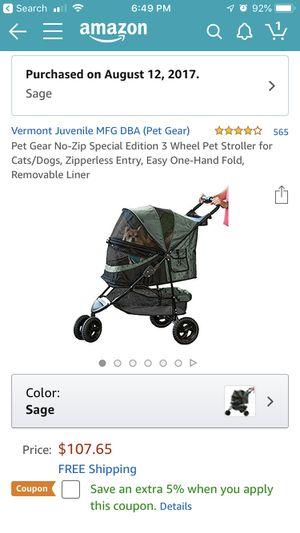 Dog stroller. for Sale in Boca Raton, FL