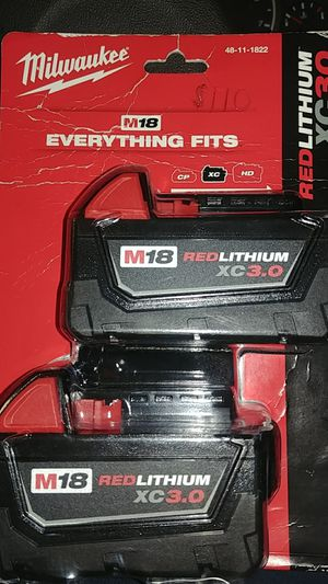 Milwaukee m18 xc 3.0 for Sale in Chicago, IL