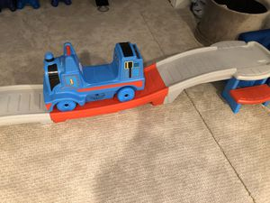 THOMAS TRAIN WITH TRACK SLIDE for Sale in Lincolnwood, IL