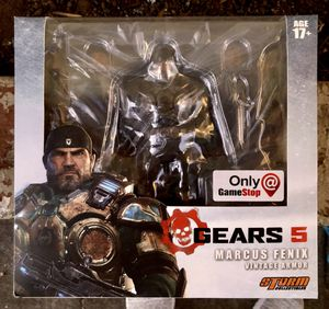 Gears 5 Marcus Fenix Vintage Armor Action Figure Storm Collectibles for Sale in Portland, OR
