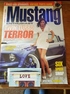 Mustang enthusiast magazine great deal for Sale in South Windsor, CT