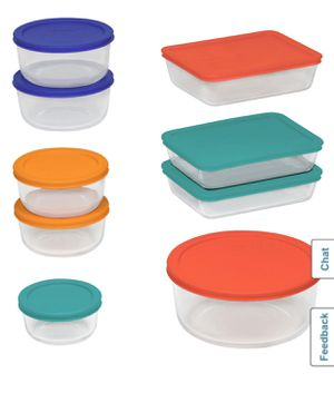 Pyrex Food Storage Orig $78 for Sale in Huntington Beach, CA