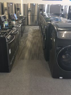 Smart Washer King Size Capacity With Warranty No Credit Needed Just $49 Down Payment Cash Price $1099 for Sale in Garland,  TX