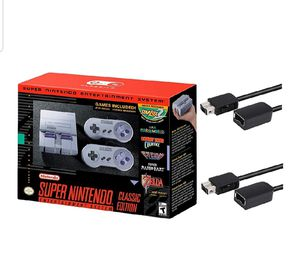 Nintendo Super Entertainment System SNES Classic Edition for Sale in Beltsville, MD