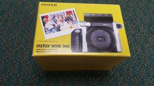 Fujifilm instax WIDE 300 Instant Film Camera Black for Sale in Baltimore, MD