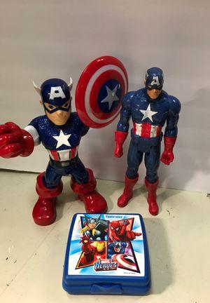 Captain America Action Figures for Sale in Orangevale, CA