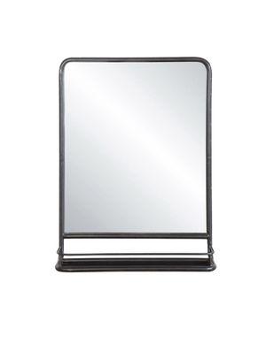 Metal Framed Mirror with shelf Mason Black for Sale in Katy, TX