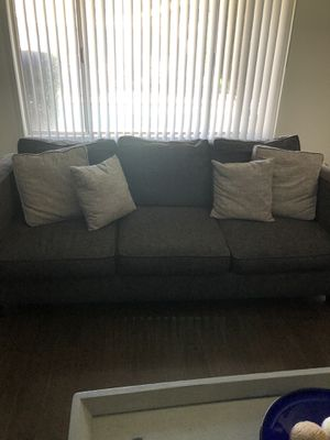 Gray color sofa sits 3 for Sale in Downey, CA