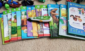 Leap Frog Pen, books, and Brain games for Sale in Raleigh, NC