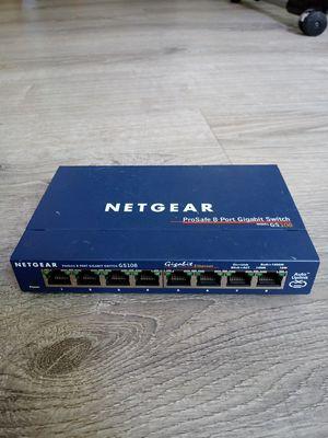 Netgear gs108 v2 for Sale in Kenosha, WI