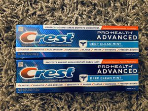Crest pro health advanced toothpaste for Sale in National City, CA