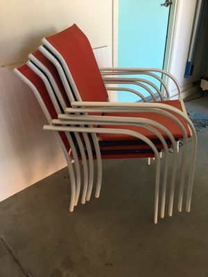 5 Patio Chairs for Sale in San Tan Valley, AZ