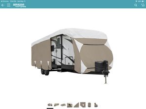 Trailer cover for camper fits 24-27 foot trailer cover (similar to one pictured) for Sale in Littleton, CO