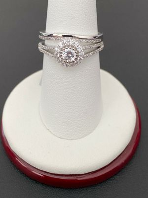 925 sterling silver women Ring set size 8 for Sale in Los Angeles, CA