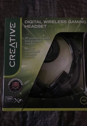 Digital wireless Gaming Headset for Sale in Sterling, VA