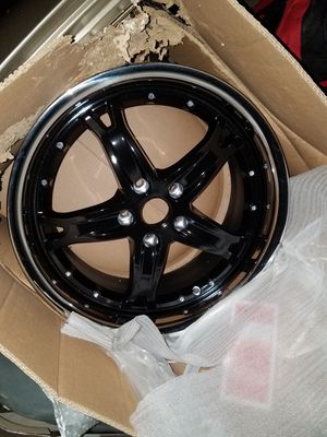 18inch dale Earnhardt jr wheels brand new still in box for Sale in Kansas City, MO
