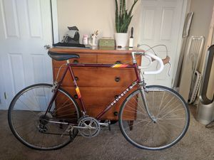 """Peugeot. 501 frame. 103 fork. 12 Speed old style shifters. 25"""" frame for Sale in Seattle, WA"""
