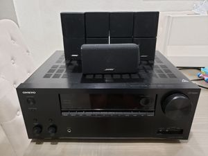 Onkyo Tx-NR656 with bose speakers for Sale in Fort Lauderdale, FL
