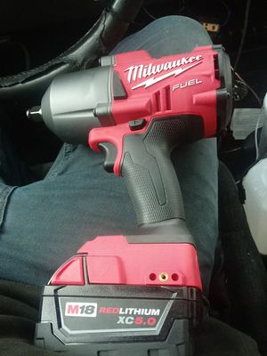 """Impact wrench m18 Milwaukee 1/2"""" for Sale in San Leandro, CA"""