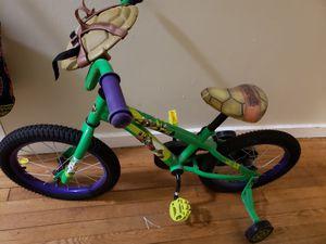 Kids ninja turtle bike for Sale in Milton, MA