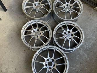 Enkei PF01 (Silver) 5x114.3 17x8 / 18x9 NSX for Sale in Yorba Linda,  CA