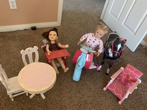 Our Generation Dolls and accessories for Sale in Riverside, CA