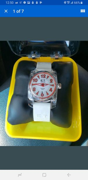 LOCMAN ITALY E.T. ELBA TEAM # 330 white WRISTWATCH Watch (brand new) for Sale in Milford, CT