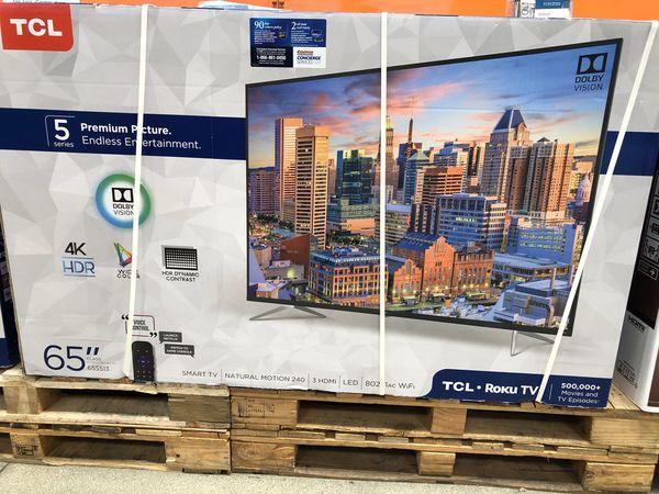 TCL Roku 65 inch 4K TV 65s423 4 series
