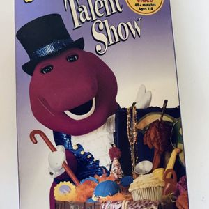 Barney - Barney's Talent Show VHS WHITE TAPE CLASSIC COLLECTION for Sale in Pineville, LA