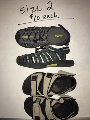 Boys SHOES! Size 2 (see multiple pics) for Sale in Issaquah, WA