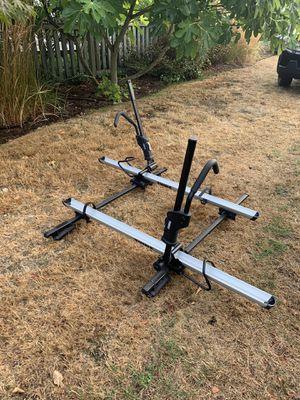 2x Thule sidearm roof mount bike rack and cross bars for Sale in Seattle, WA