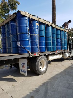 55 gallon meta drums food grade for Sale in Sanger, CA