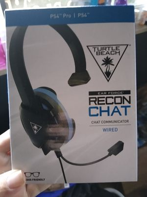 Turtle Beach PS4 headset PlayStation new in box for Sale in Parma, OH