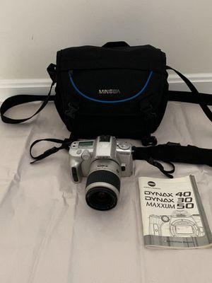 Minolta Maxxum50 Camera for Sale in Manassas, VA