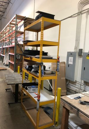 8 foot metal rack for Sale in Vernon, CA