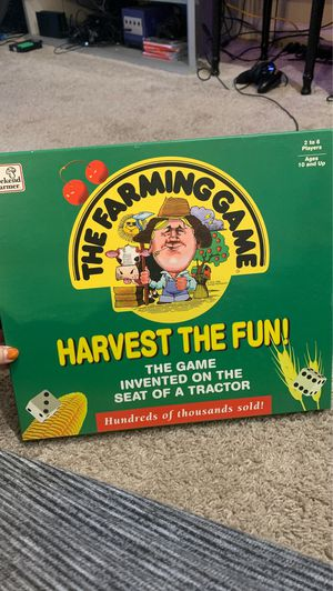 The Farming Game Board Game for Sale in Littleton, CO