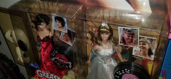 Grease Barbie Dolls Sandy Rizzo Dance