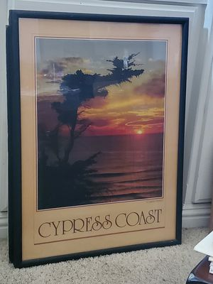 Cypress Coast wall picture for Sale in Chino Hills, CA