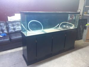 125 gal fish tank and stand only for Sale in Glendale, AZ
