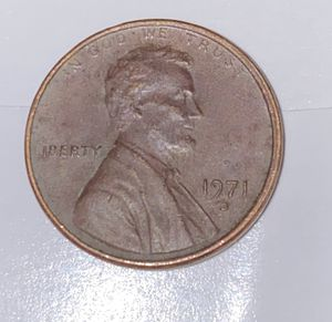 1971 one cent, Lincoln D-penny, super rare for Sale in Tyler, TX