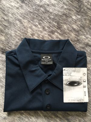 "Authentic "" Oakley"" Sport Jersey Style polo for Sale in Los Angeles, CA"