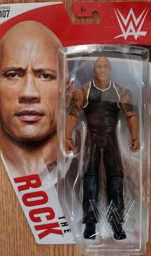 """New WWE """"THE ROCK"""" Action Figure. for Sale in Apopka, FL"""