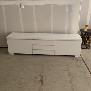 White Entertainment/dresser for Sale in Hayward, CA