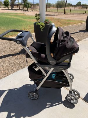 Chicco Keyfit 30 — Car Seat + Stroller + Base for Sale in Queen Creek, AZ